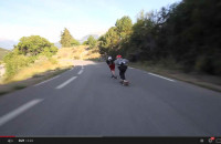 Kevin Reimer and Byron Essert in the Alps