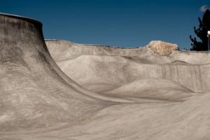 Steven Reeves at Mammoth Mountain Skatepark