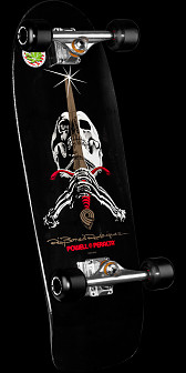 Powell Peralta Ray Rodriguez Skull and Sword Complete - 10 x 30