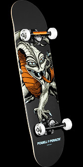 Powell Peralta Cab Dragon Complete Skateboard Gray - 7.75 x 31.75