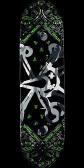 Powell Peralta Vato Rat Band Grey Deck - 8.5 x 31.8