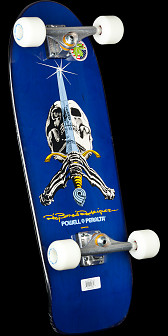 Powell Peralta Rodriguez Skull and Sword Complete Blue - 10x 30