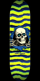 Powell Peralta Ripper Skateboard Lime - 8 x 31.45