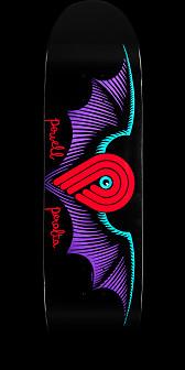 Powell Peralta Winged P Black Deck - 8.5 x 31.8