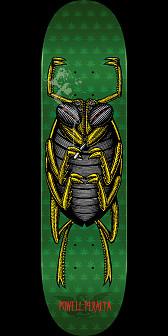 Powell Peralta Roach Skateboard Green - 8 x 32.125