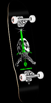 Powell Peralta Mini Skull and Sword 5 Complete - 8 x 30