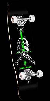 Powell Peralta Mini Skull and Sword 5 Complete - 8 x 30