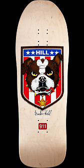 Powell Peralta Hill Bulldog Reissue Natural Deck - 10 x 31.5