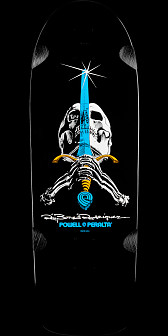 Powell Peralta Ray Rodriguez OG Skull and Sword Deck - 10 x 30