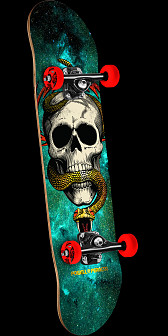 Powell Peralta McGill Cosmic Green Complete Assembly - 8.0 x 32.125