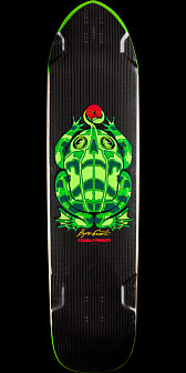 Powell Peralta Byron Essert Carbon Frog Deck - 9.9 x 39.72