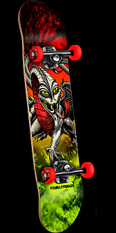 Powell Peralta Cab Dragon Storn Complete Red/Lime - 7.75 x 31.75