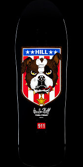 Powell Peralta Frankie Hill Bulldog Deck Black -10 x 31.5