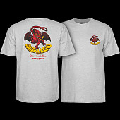 Powell Peralta Steve Caballero Original Dragon T-shirt - Gray