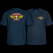 Powell Peralta Winged Ripper T-shirt - Navy