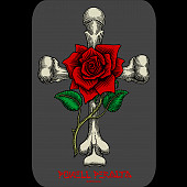 Powell Peralta Rose Cross Sticker Single