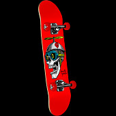 Powell Peralta Prop Head Red Complete Assembly - 7.5 x 31.375