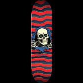 Powell Peralta Ripper Skateboard Red - 8.25 x 31.95