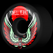 Powell Peralta Bomber Wheel 3 Black 64mm 85a 4pk