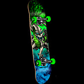 Powell Peralta Cab Dragon Storm Complete Blue/Green - 7.5 x 28.65