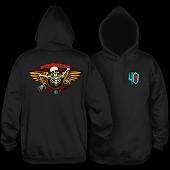Powell Peralta 40th Anniversary Winged Ripper Hooded Sweatshirt Black