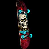 Powell Peralta Ripper Cosmic Red Complete Assembly - 8 x 32.125