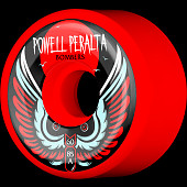 Powell Peralta Bomber Wheel 3 Red 60mm 4pk