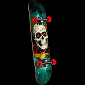 Powell Peralta Ripper Cosmic Green Complete Assembly - 7.75 x 31.75