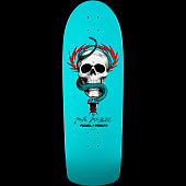 Powell Peralta McGill Skull and Snake Turquoise Blem Deck -