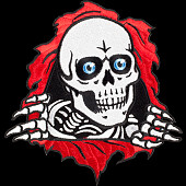 "Powell Peralta Ripper Patch 3"" Single"