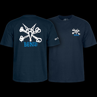 Powell Peralta Rat Bones T-shirt - Navy
