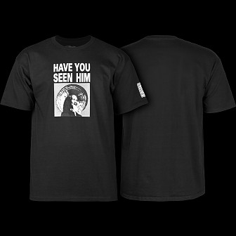 Powell Peralta Animal Chin T-shirt - Black