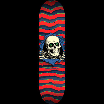 Powell Peralta Ripper Skateboard Red - 8.25 x 32.5