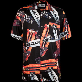 Powell Peralta Hawaiian Print Shirt - Black