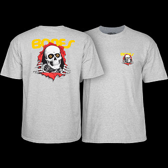 Powell Peralta Ripper T-shirt - Gray