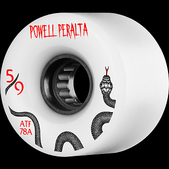 Powell Peralta ATF 59mm 78A Wheel White