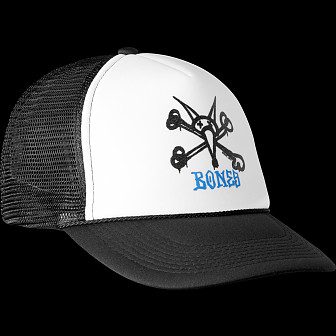 Powell Peralta Vato Rat Trucker Cap - Black/White