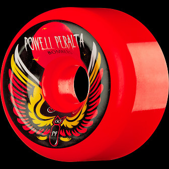Powell Peralta Bomber Wheel 3 Red 60mm/PF (4 pack)