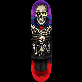 Powell Peralta Pro Charlie Blair Magician Skateboard Red/Purple - 8.25 x 32.5