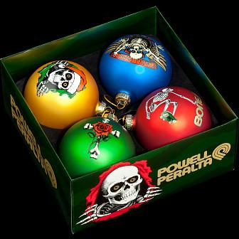 Powell Peralta 2016 Holiday Ornaments 4pk