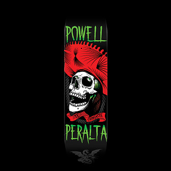 Powell Peralta Te Chingaste Skateboard Red - 8 x 32.125