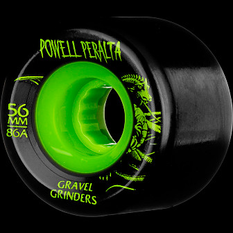 Powell Peralta Gravel Grinders 56mm 86a Wheels Green 4pk