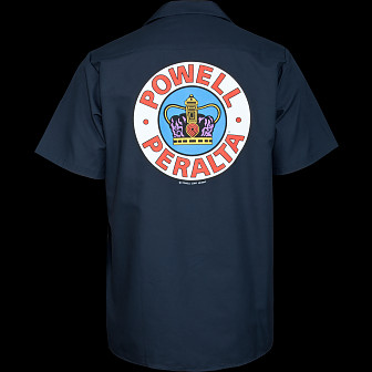 Powell Peralta Supreme Work Shirt - Navy