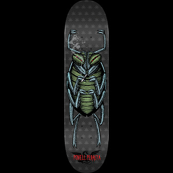 Powell Peralta Roach Skateboard Grey - 8.5 x 33.5