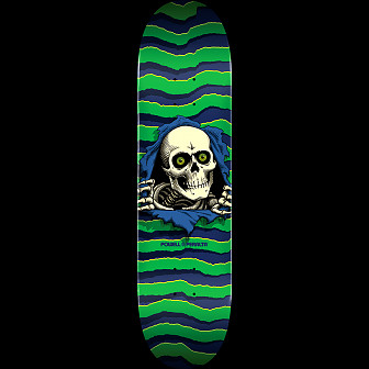 Powell Peralta Ripper Skateboard Green - 8.75 x 33.25