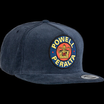 Powell Peralta Supreme Snapback Cap Navy