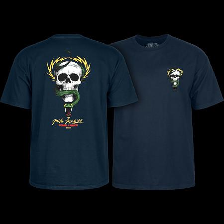 Powell Peralta Mike McGill Skull & Snake  T-shirt - Navy