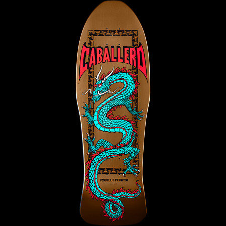 Powell Peralta Chinese Dragon Deck Copper - 10 x 30