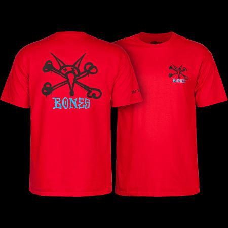 Powell Peralta T-shirt Rat Bones Red
