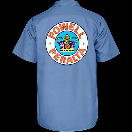 Powell Peralta Supreme Work Shirt - Blue
